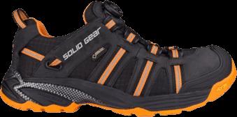 Solid Gear Werkschoen Oranje Zwart Sticker Xpress Footwear